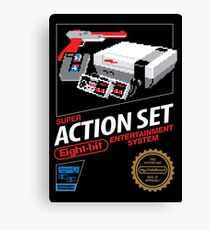 Super Action Set Canvas Print