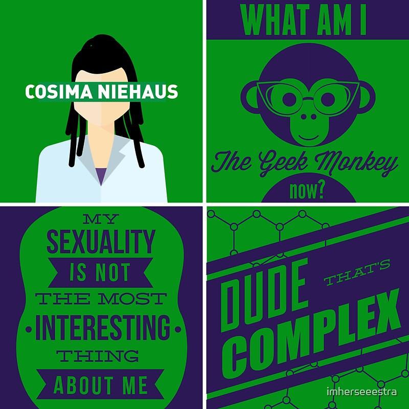 quotorphan black cosima niehausquot stickers by imherseeestra