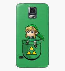 Pocket Link Hero of Time Zelda with Triforce Case/Skin for Samsung Galaxy