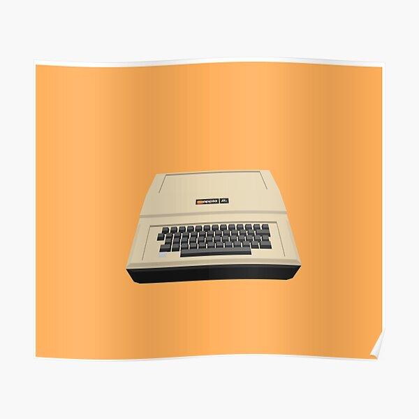 Apple IIe Poster