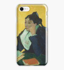 Vincent Van Gogh - Larlesienne, Portrait Of Madame Ginoux, 1888-89 iPhone Case/Skin