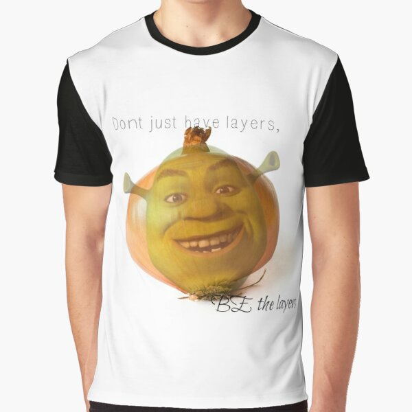Shrek is an Onion Meme Graphic T-Shirt