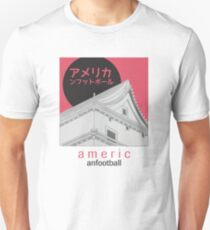Japanese American Football Unisex T-Shirt