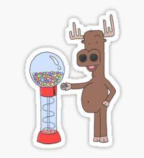 Moose + Gumball Machine Sticker