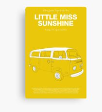 Little Miss Sunshine Canvas Print
