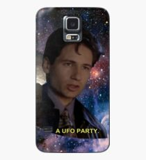 Spaced Out Mulder Case/Skin for Samsung Galaxy