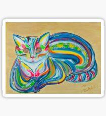 Rainbow Cat Sticker
