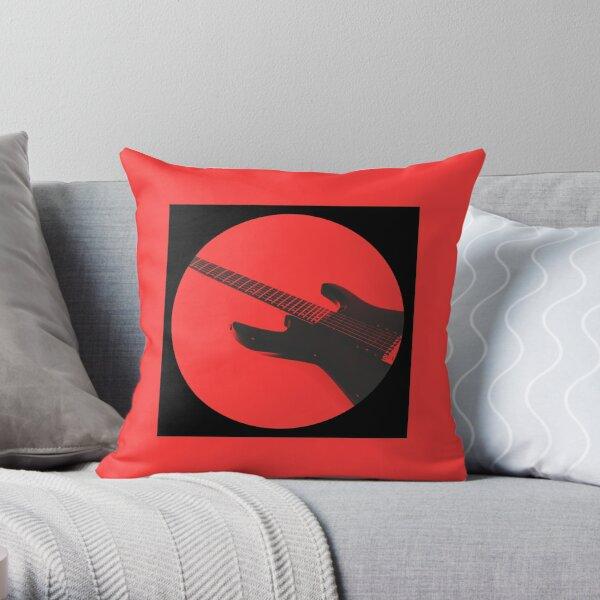 Engedi 1 Scarlet Throw Pillow