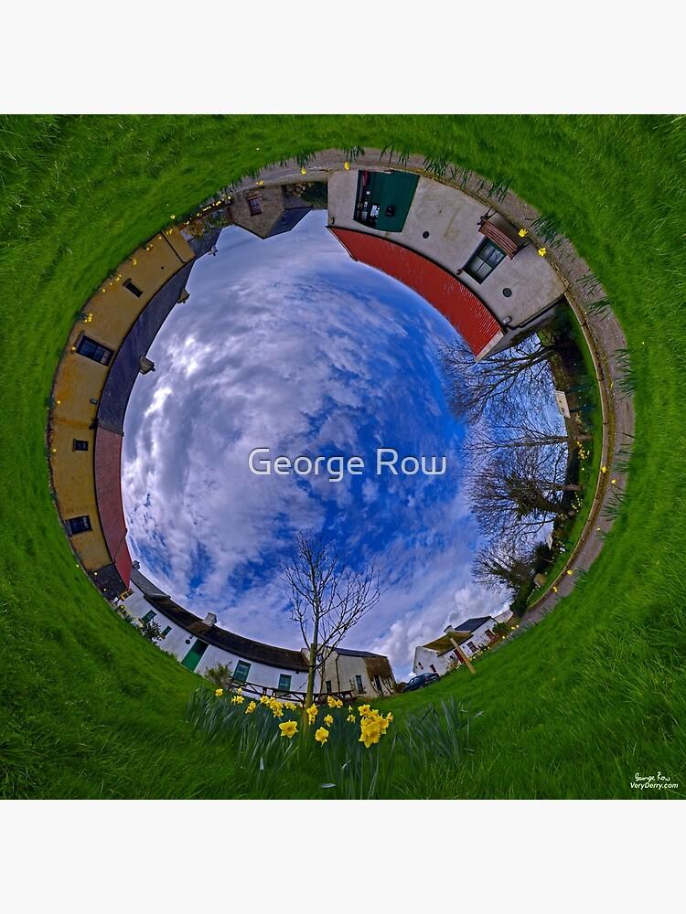 Hanna's Close, County Down (Sunny sky In) by VeryIreland