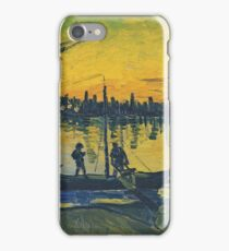 Vincent Van Gogh - Coal Barges, 1888 iPhone Case/Skin