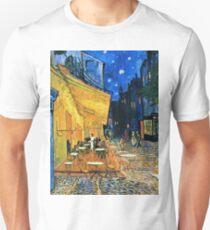 Vincent Van Gogh - Cafe Terrace, Place Du Forum, Arles 1888  Unisex T-Shirt