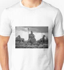 Fionn Mac Cumhaill and his hounds Slim Fit T-Shirt