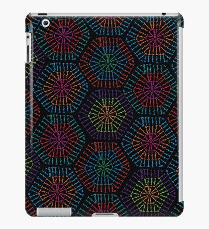 Crochet Me A Hexagon iPad Case/Skin