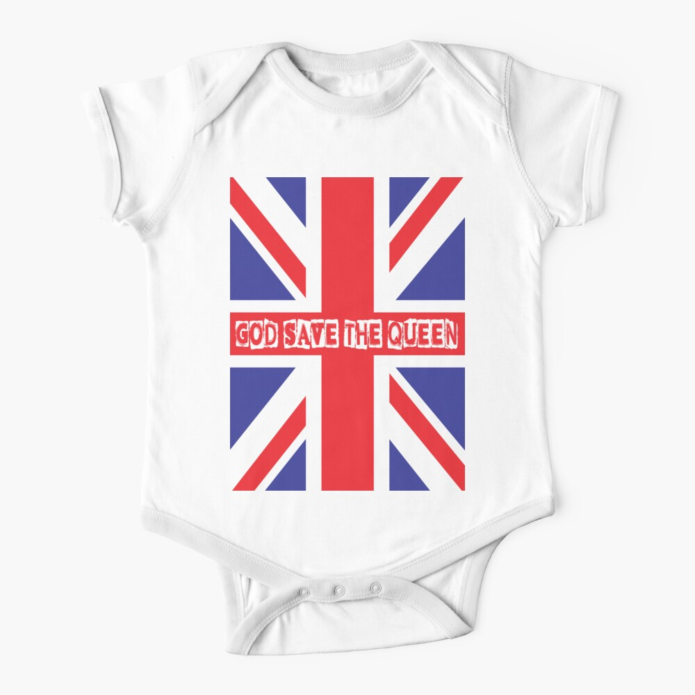 God Save the Queen Baby One-Piece