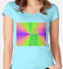 Curtain Falls  Women's Fitted Scoop T-Shirt