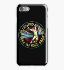 ICARUS THROWS THE HORNS - super bright NEW DESIGN iPhone Case/Skin