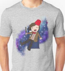 Cartoon 11th Doctor (with Tardis) T-Shirt