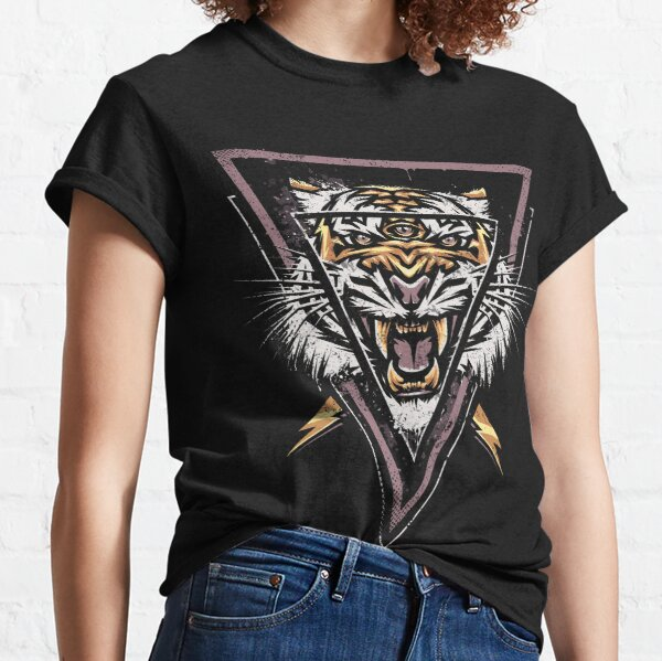 Thee-eyed Tiger Classic T-Shirt