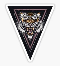 Thee-eyed Tiger Sticker