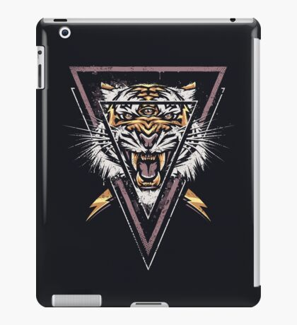 Thee-eyed Tiger iPad Case/Skin