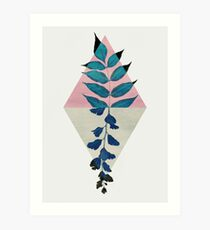 Geometry and Nature I Art Print