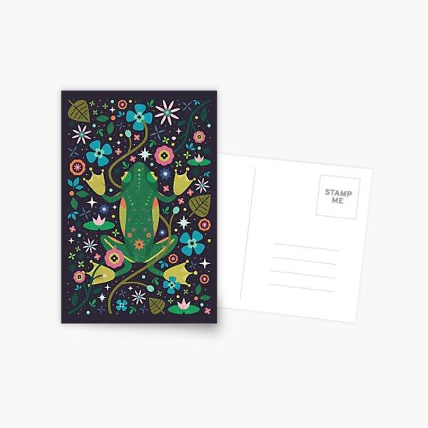 Botanical Frog  Postcard