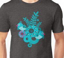 Folk birds Unisex T-Shirt
