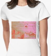 Colorful watercolor painting with boats on the bay T-Shirt