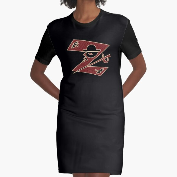 In the name of Zorro - Z for Zorro with his famous sword! Graphic T-Shirt Dress