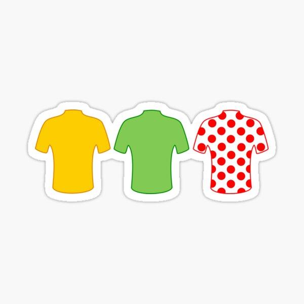 Maillots du Tour de France Sticker