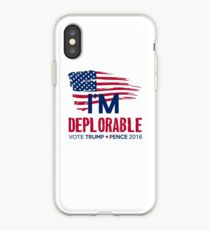 I'm Deplorable iPhone Case