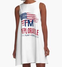 I'm Deplorable A-Line Dress