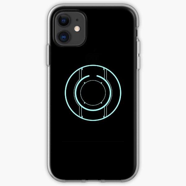 Tron Disc [Blue] iPhone Soft Case