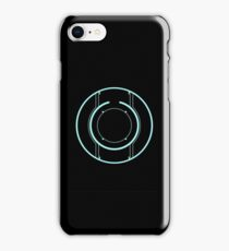 Tron Disc [Blue] iPhone Case/Skin