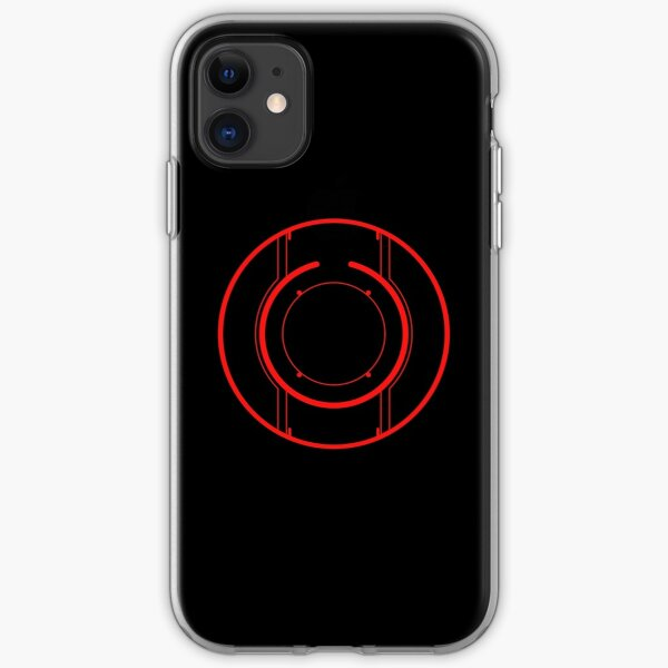 Tron Disc [Red] iPhone Soft Case