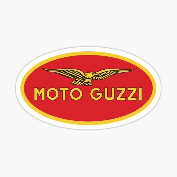 Logo Moto Guzzi vintage, 1990 Pegatina