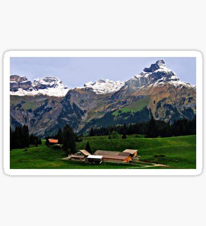 Beautiful Switzerland 2 Sticker