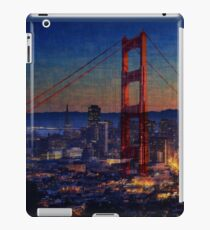 San Francisco collage iPad Case/Skin