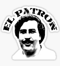 El Patron Sticker