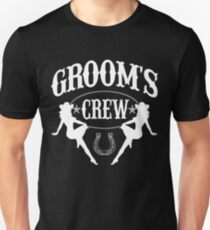 2f6bf830 Old West Bachelor Party - Groom's Crew Version Slim Fit T-Shirt