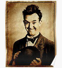 Stan Laurel Vintage Hollywood Actor Comedian Poster