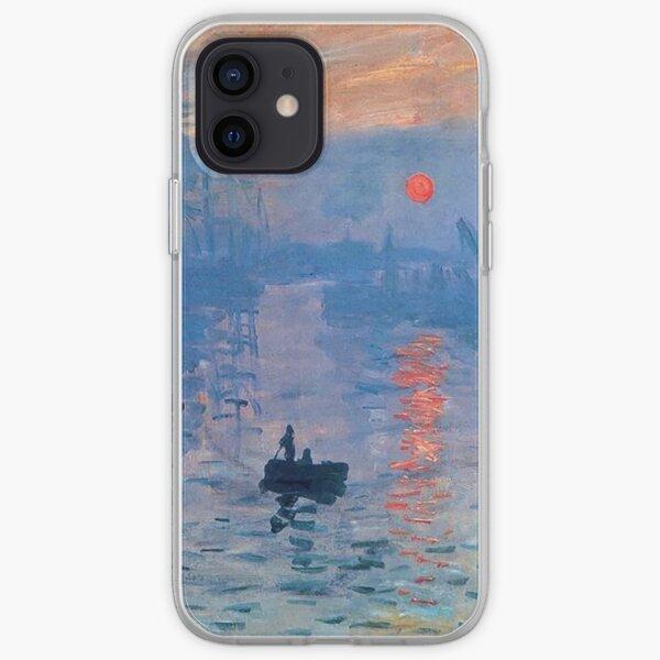 CLAUDE MONET, Impression, Sunrise. iPhone Soft Case