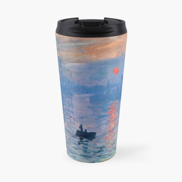 CLAUDE MONET, Impression, Sunrise. Travel Mug