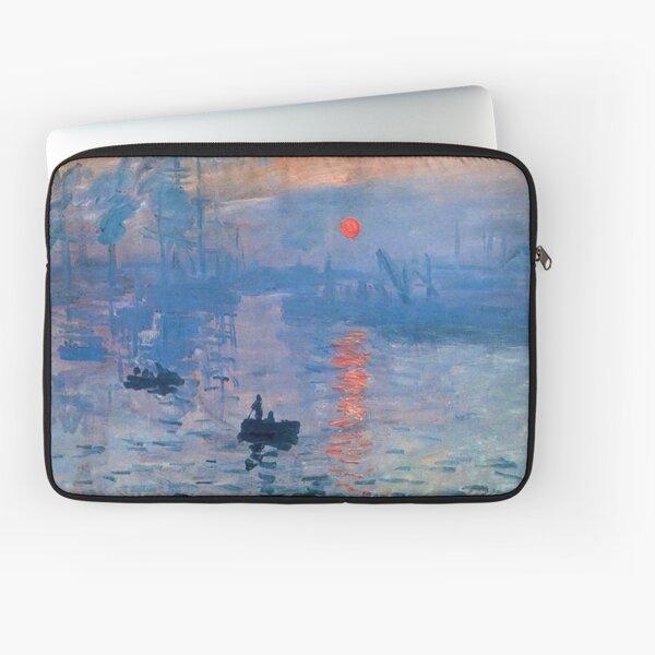 CLAUDE MONET, Impression, Sunrise. Laptop Sleeve