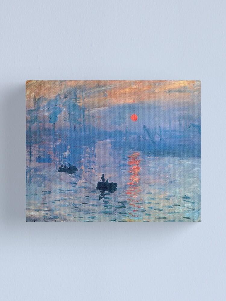 Alternate view of CLAUDE MONET, Impression, Sunrise. Canvas Print