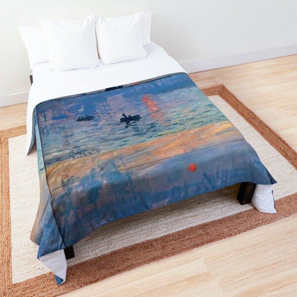 CLAUDE MONET, Impression, Sunrise. Comforter