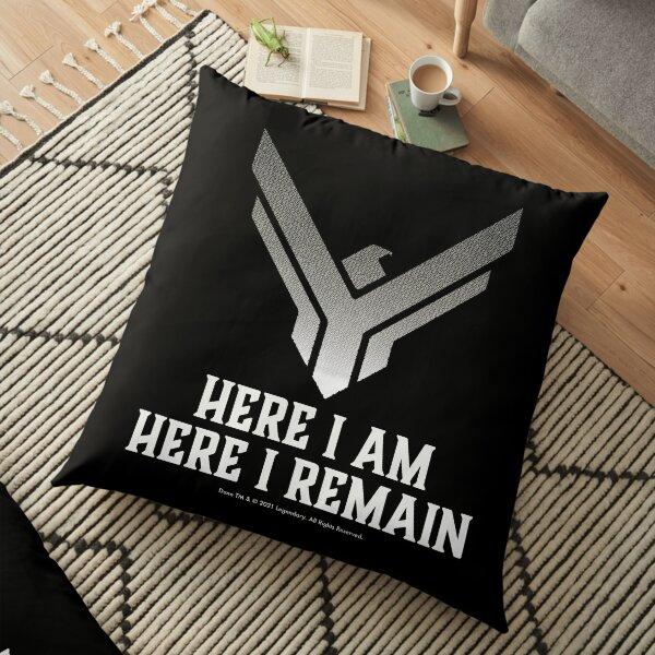 Dune movie Atreides here I am, here I remain Floor Pillow