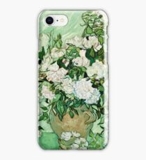 Vincent Van Gogh - Roses 1890  iPhone Case/Skin