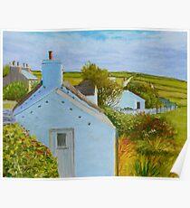 Cregneash Manx Heritage Village Poster