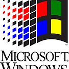 Vintage Windows 3.1x logo by Traut
